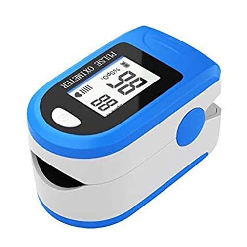 Lipeed Pulsossimetro con Ampio Schermo a LED Cardiofrequenzimetro da Dito Cardiofrequenzimetro per misurare la saturazione di Ossigeno nel Sangue e la frequenza cardiaca