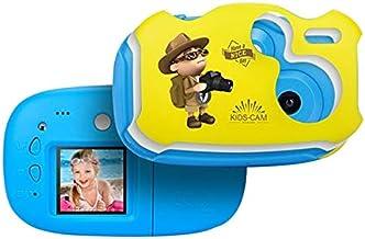 $99 » Hongbosheng 2.0 Mega Pixel 1.44 inch HD Screen Creative DIY Mini Digital Camera for Kid(Pink) (Color : Blue)