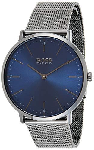 Hugo BOSS Reloj Analógico para Hombre de Cuarzo con Correa en Acero Inoxidable 1513734