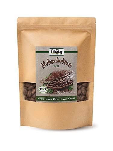 Biojoy Fave di cacao crudo BIO, non tostate e al naturale Theobroma cacao (1 kg)
