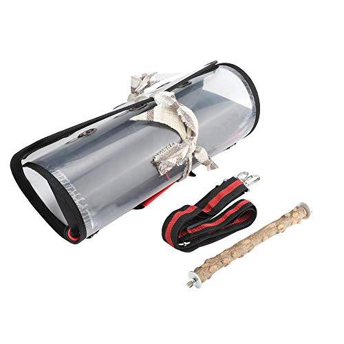 XiangXin Große Kunststoff-Reisetasche aus Kunststoff im Freien, transparente Vogeltasche für Bird Pet Cage Cage(small)