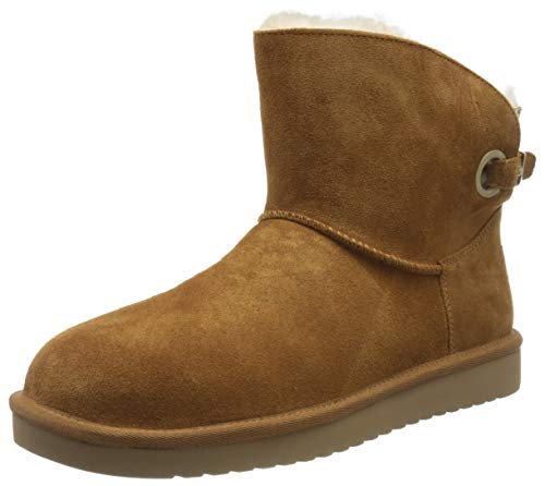 Koolaburra by UGG Women's Remley Mini Classic Boot, Chestnut, 43 EU
