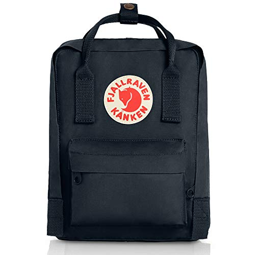 Fjallraven Kids Kanken Mini Backpack, Black (Black), 29 x 20 x 13, 7 Liter