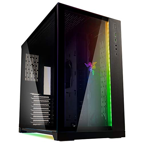Gabinete Gamer Lian Li O11 Dynamic Razer Edition RGB Preto O11DXRZ