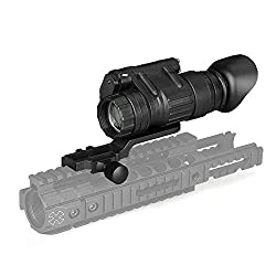Grneric Professional IR Night Vision Scope HD Tactical Night Vision Monocular Telescopes for Outdoor Observation Hunting Infrared New PV3X32 3X Night Vision ? Attachable to Helmet