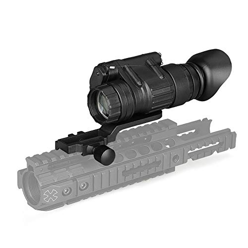 Grneric Professional IR Night Vision Scope HD Tactical Night Vision Monocular Telescopes for Outdoor Observation Hunting Infrared New PV3X32 3X Night Vision , Attachable to Helmet