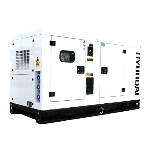 Hyundai DHY34KSE Generador diésel trifásico de 1500 RPM, 34 kVA