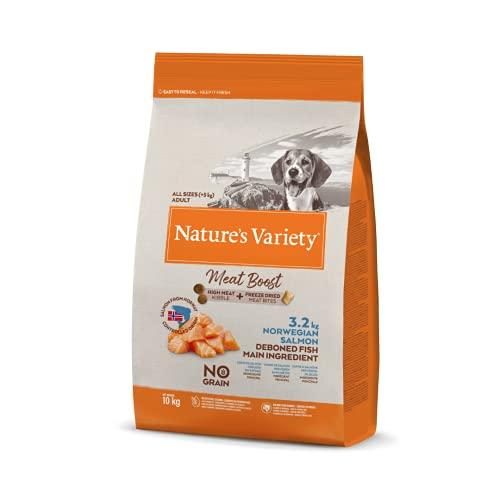 True Instinct Raw Boost - Nature's Variety - con Salmón - 10kg ⭐