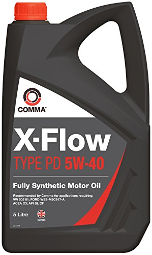 Comma XFPD5L X-Flow Type PD 5W-40 Synthetisches Motoröl 5 L