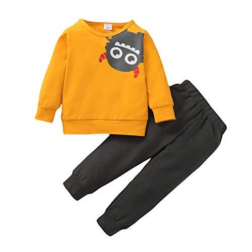 Borlai Niños Bebés Niños Trajes de Moda Conjunto de Chándal Sudadera con Capucha de Manga Larga + Pantalones para 1-6 Años