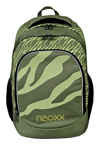 neoxx Fly Schulrucksack Ready for Green I Schulranzen für die weiterführende Schule I Rucksack