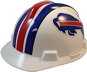 MSA NFL Ratchet Suspension Hardhats with Hard Hat - Buffalo Bills Hard Hats