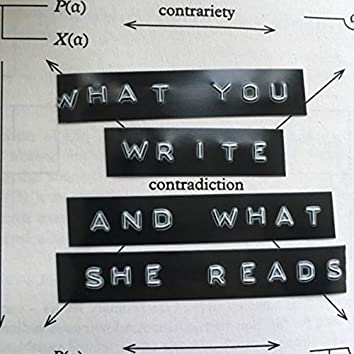 EXCOP12 - What You Write And What She Reads