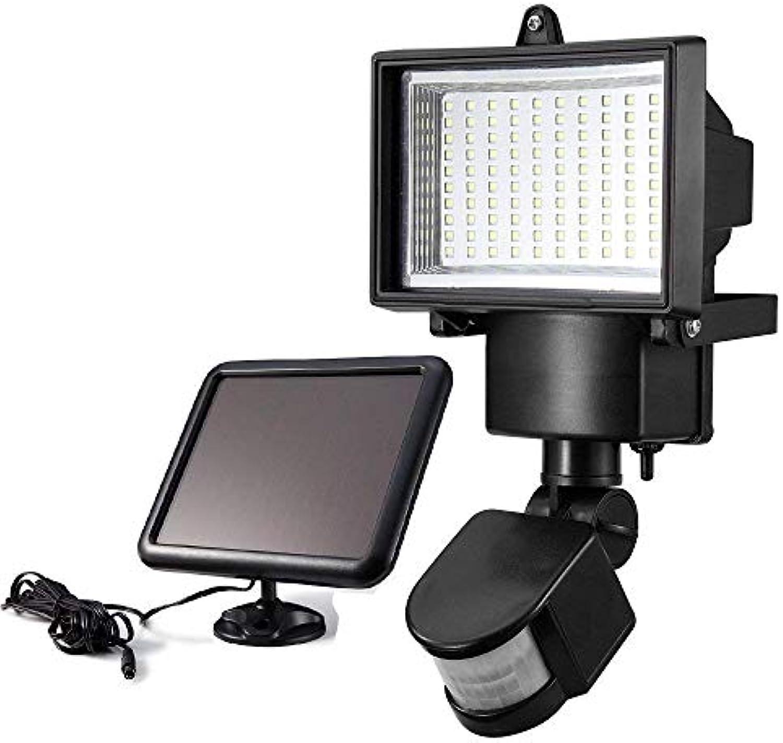 FCXBQ (100 LED) Solar-Sicherheitslicht, Bewegungssensor für Garten-Patio-Garagenwand, Erhhung der Haussicherheit - Energieeffizient Wasserdicht