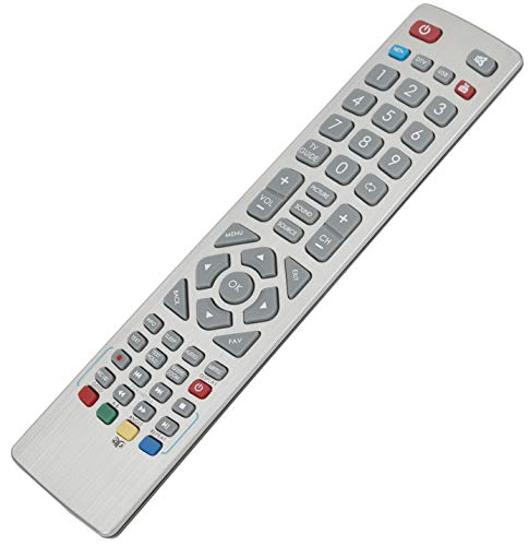 ALLIMITY RF SHW/RMC/0103 Fernbedienung Ersetzt für Sharp Aquos Smart TV with Net+ YouTube 3D Button LC-32CFE6242E LC-43SFE7452E LC-32CHE5112EB LC-40CFE6241K LC-40CFE6242E LC-49CFE6032E
