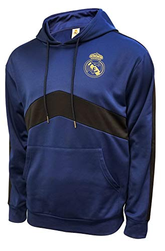 Icon Sports Youth Real Madrid Hoodie Officially Licensed Pullover Soccer Hoodie YM 001