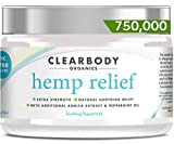 Best Arthritis Knee Pain Creams - Hemp Pain Relief Cream- 750,000 Made in USA Review