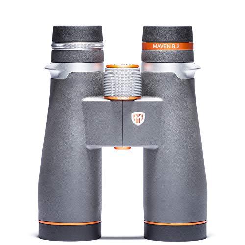 Maven B2 45 mm ED Binocular (9X45, Gray/Orange)