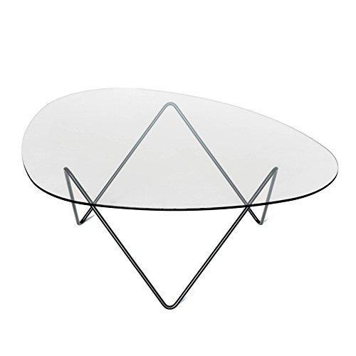 GUBI Pedrera Table - Mesa (106 x 86 x 38 cm), color negro