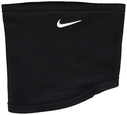 Nike Unisex Fleece Neck Warmer (Black(NWA66091)/White, One Size)