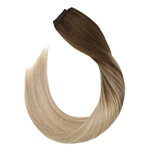 Ugeat 80Gram Halo Hair Human Hair Extensions