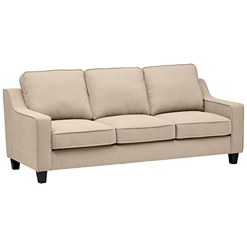 Amazon Brand – Stone & Beam Isabel Traditional Sofa, 84'W, Tan
