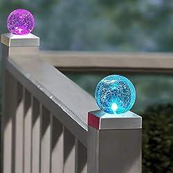 Image of Solar Fence Post Cap Light,...: Bestviewsreviews