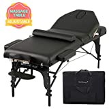 Massage Table Massage Bed Spa Bed Height Adjustable Massage Bed 77 Inches Long...