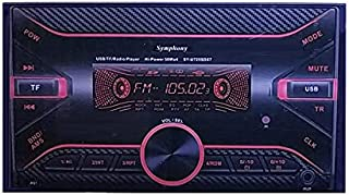 Symphony high power digital cassette 7.2 inch, color changing according to the light of the tablet, model SY-U725DX7 , 272...