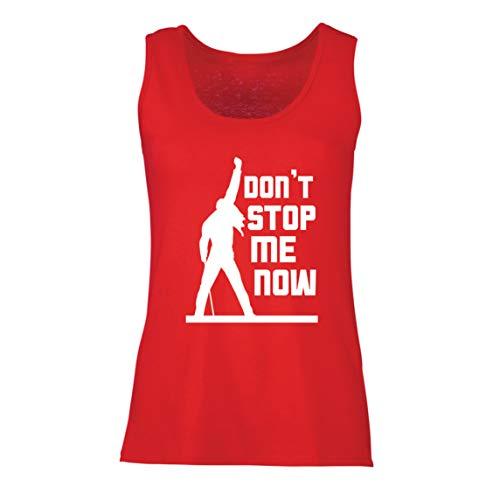 lepni.me Camisetas sin Mangas para Mujer Don't Stop me Now! Camisas de...