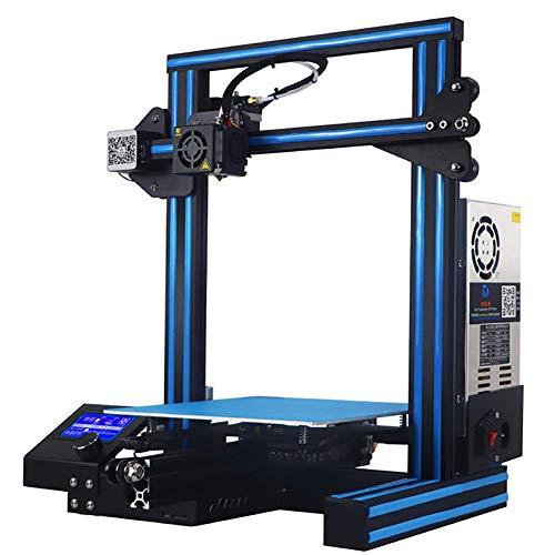 XLST Imprimante 3D Micro Carte SD Préchargé Imprimable Modèles 3D V-Slot CV Puissance Échec Impression pour La Maison & École,Blue