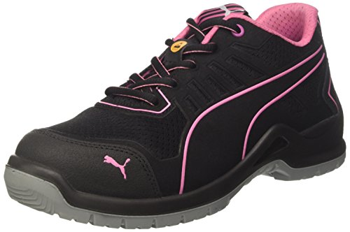 Puma 644110.40Fuse TC Pink Sicherheitsschuhe für Damen, Low S1P ESD SRC, Größe 40