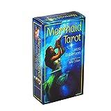 planuuik 78 Piezas Cartas del Tarot Inglés Completo Oracle Deck Tarot Adivinación Destino Familia Fiesta Juego de Mesa Juguete