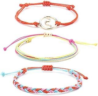 Bohemian Sweet Woven Bracelet Set for Women