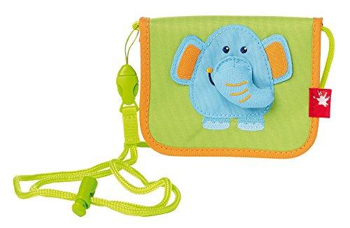 sigikid, Mädchen und Jungen, Brustbeutel, Elefant, Hellgrün/Hellblau, 24649