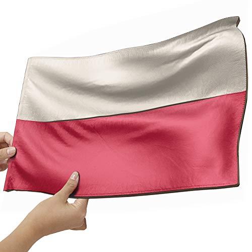 Polen Flagge als Lampe aus Holz - schenke deine individuelle Polen Fahne - kreativer Dekoartikel aus Echtholz