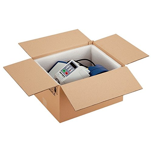 Propac Z-BOX302510M Scatola Cartone Due Onde Avana, 30 x 25 x 10 cm, Set di 20