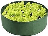 CONG Bolsas de Cultivo de la Planta Grandes Plantas de jardín Transpirable Bolsas de Cultivo Ollas Nonwoven Planta Potes de Tela para Verduras al Aire Libre Planta de Flores Que Crecen