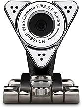 Aluratek HD 1080P Video Webcam for PC, MAC, Desktop & Laptop, Video Call, Conference, USB (AWC01F)