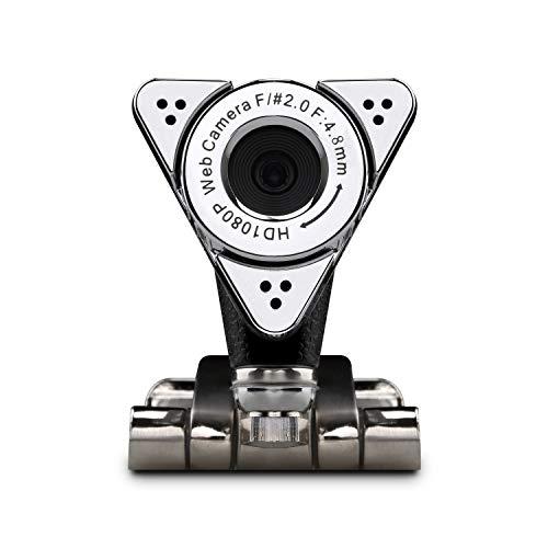 Aluratek HD 1080P Video Webcam for PC, MAC, Desktop & Laptop, Video Call, Conference, USB