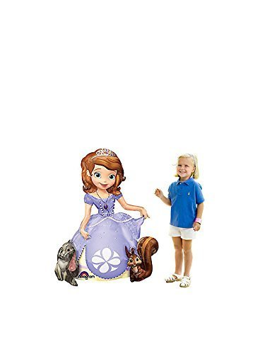 Disney Sofia de eerste Airwalkers Supershape Ballon door Anagram