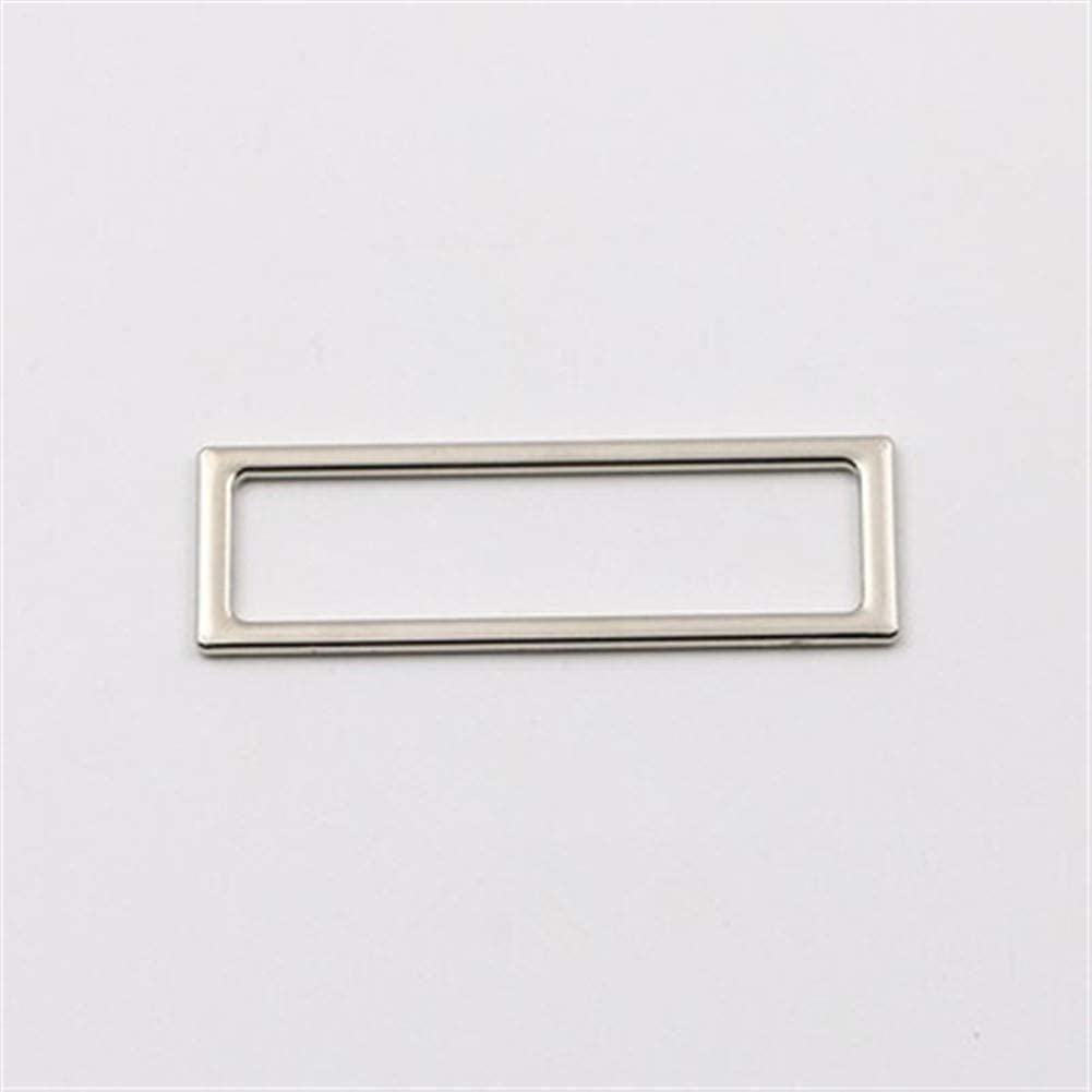 Roller design 6pcs Square Ring Buckle Key Max 87% Limited time cheap sale OFF Leather W DIY Bag