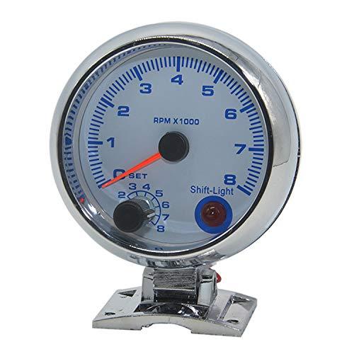 Dhmm123 Digital 0~8 × 1000 RPM Auto Drehzahlmesser Drehzahlmesser 12 V 3,75 Zoll Auto LKW Tachometer Digitale Tachometer Spezifisch