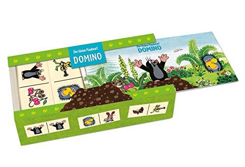 Trötsch 39223 - Domino kleine Maulwurf, Holzschachtel