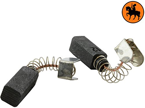 Buildalot Specialty koolborstels ca-17-17648 voor Metabo boormachine BA 0666-6x13mm - met automatische uitschakeling - vervanging voor originele onderdelen 316033390, 34301033 & 343011050