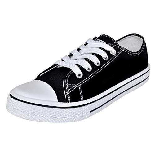 Geniet van winkelen met Klassieke lage dames sneakers zwart (maat 36)
