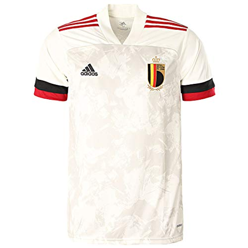 adidas Belgium Away Jersey 2020 (M) Off White