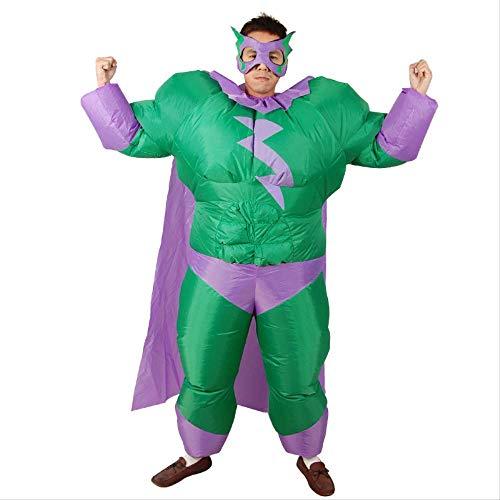 1yess Inflable de Sumo de Flashman Superman Ropa Hombre Gordo Inflable