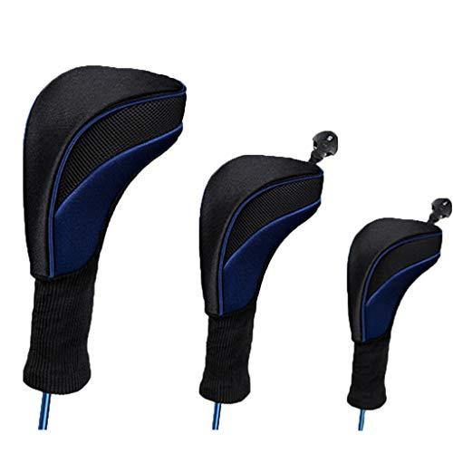 Yyooo Golfschlägerhaube, atmungsaktiv, hochelastisch, Nylon-Material, Golfschläger-Abdeckung, Sportzubehör, Unterhaltungszubehör