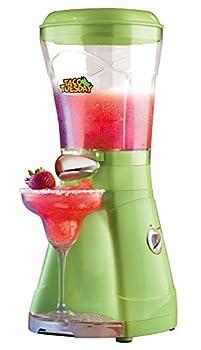 Nostalgia Taco Tuesday 64-Oz Frozen Margarita & Slush Blender with Easy-Flow Spout for Margaritas Daiquiris Slushies & Frozen Blended Drinks Green